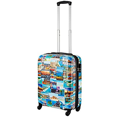 Cabin Max Icon 2.0 - ABS Lightweight Luggage Suitcase Travel Trolley Carry On Cabin Bag