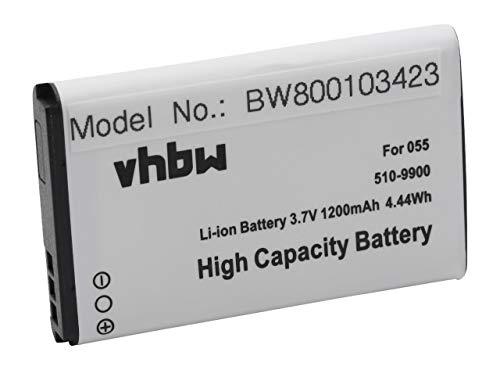 vhbw Li-Ion Akku 1200mAh (3.7V) für Unterwasser Kamera, Camcorder Liquid Image Explorer, Impact 365, 367, Scuba, Summit 335, 337 wie 055, 510-9900.