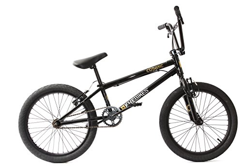 Bicicleta KHE BMX COSMIC negra, solo 11,1 kg