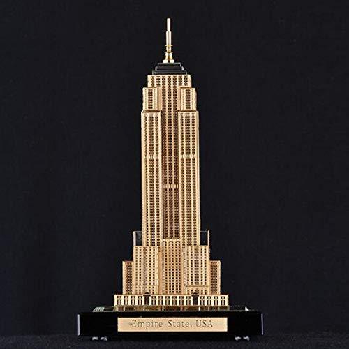 Empire Kostüm State Building - Statue/Skulptur, Amerikanisches Empire State Building, Crystal Architectural Model, Architekturdekoration des WeltberüHmten Wahrzeichens,Home Decor, Touristisches Souvenir