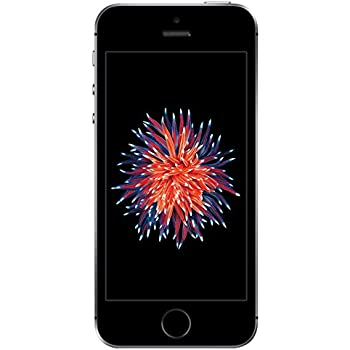 "Apple iPhone SE Single SIM 4G 64GB Black,Grey - smartphones (10.2 cm (4""), 64 GB, 12 MP, iOS, 9, Black, Grey)"