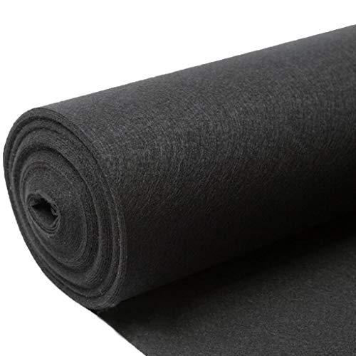 ANHPI-Runner rugs Alfombra Boda Moqueta Rollo Negro