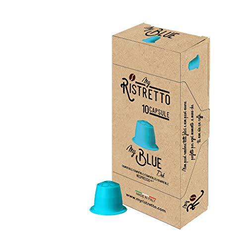 100 MyBlue entkoffeiniert Kaffee Kapseln - Nespresso Kompatible kapseln - MyRistretto