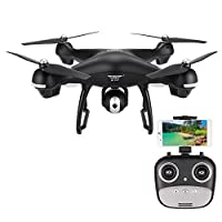 SJ R/C S70W 2.4GHz 1080P Camera Wifi FPV Drone Altitude Hold G-sensor Follow Me Mode GPS RC Quadcopter from SJ R/C
