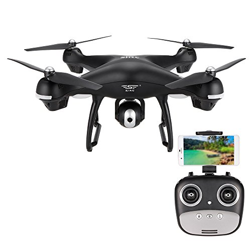 Sj r/c s70w 2.4ghz 1080p camera wifi fpv drone altitude hold g-sensor follow me mode gps rc quadcopter