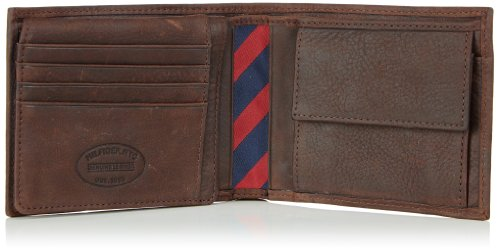 Tommy Hilfiger JOHNSON CC FLAP & COIN POCKET BM56923221 Herren Geldbörsen 14x10x2 cm (B x H x T) Braun (BROWN 204)