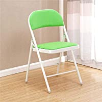 FEFEFEF Color folding chair Simple student folding training chair Home fashion computer chair,b