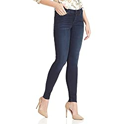 VERO MODA Women's Skinny Jeans (10184225_Dark Blue Denim_30)