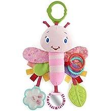 Bright Starts 9182 Der Pretty Flutter and Link Friend-Schmetterling, rosa