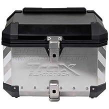 contornos Trax Marcadores, Plata, 2Lado maletín portaequipajes o 1, Moto
