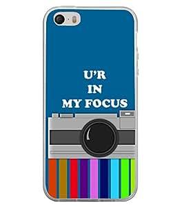 Camera 2D Hard Polycarbonate Designer Back Case Cover for Apple iPhone 5