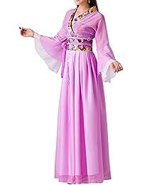 062ddb709f6cb Gtagain Spettacolo Prestazioni Abbigliamento Tradizionale - Donne Cinese  Stile Costume Retro Hanfu Elegante Fata Ragazze Danza