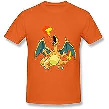 MKSD Funny Pokemon Charizard Design T-shirt For Men XXXX-L