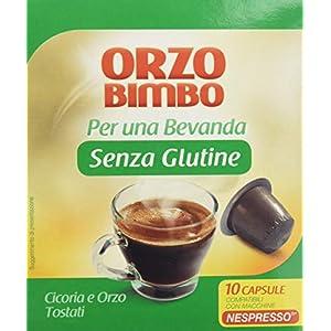 Orzo Bimbo Orzo Bimbo Capsule Orzo senza Glutine - Pacco da 10 x 20 g
