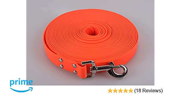 Biothane Tracking Line blaze orange!!