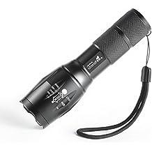 Ultrafire A100 XM-L2- Linterna de LED , 1000 lúmenes, foco ajustable, para uso interior y exterior