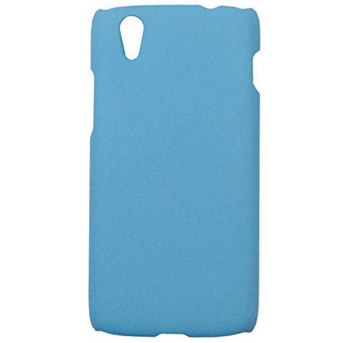 Heartly QuickSand Matte Finish Hybrid Flip Thin Hard Bumper Back Case Cover For Lenovo Vibe X S960 - Sky Blue  available at amazon for Rs.199