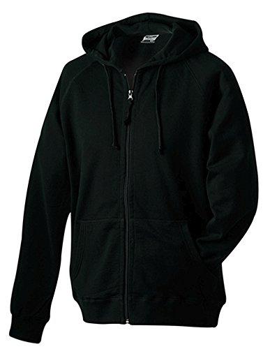 James & Nicholson Herren Sweatshirt Black