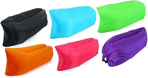 Lettino gonfiabile mare sacco divano letto ad aria materasso sdraio per spiaggia e montagna