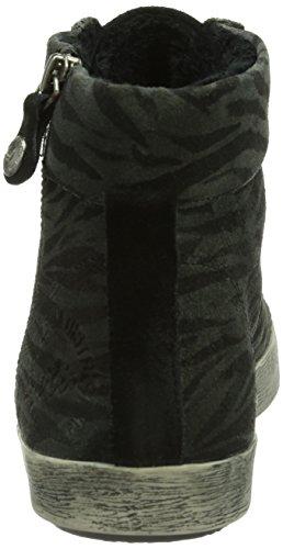 s.Oliver 25110, Sneaker a collo alto Donna Nero (Schwarz (ZEBRA 20))