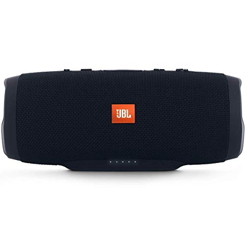 JBL Charge 3 Stealth Edition Bluetooth-Lautsprecher (Wasserfeste, portable Boombox...