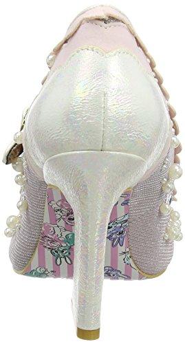 Irregular Choice Juicy Jewels, Scarpe Col Tacco con Cinturino a T Donna Pink (Pink)