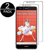 DyDiy Vetro Temperato Huawei P10 Lite [2 Pack] Premium Pellicola Protettiva Film Ultra Resistente Screen Protector Proteggi Schermo per Huawei P10 Lite