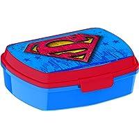 Stor, 85675, Sandwichera Rectangular Superman Symbol, libre bpa.