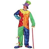 Atosa Disfraz de payaso para hombre, talla M/L (6030)