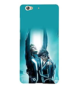 A2ZXSERIES Tron Movie Design Back Case Cover for Gionee S6