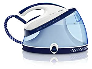 Philips GC8635/02 PerfectCare Aqua ECO Steam Generator Iron - One Perfect Temperature, 220 g Pressurised Steam Boost