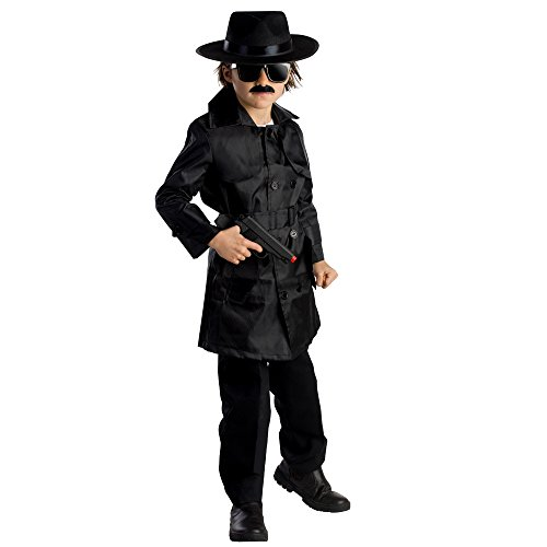 Dress Up America 785-M - Agentenkostüm, (Trenchcoat Kostüm Kind)