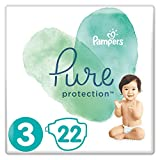 Pampers Pure Protection Größe 3, 22 Windeln, 6-10 kg