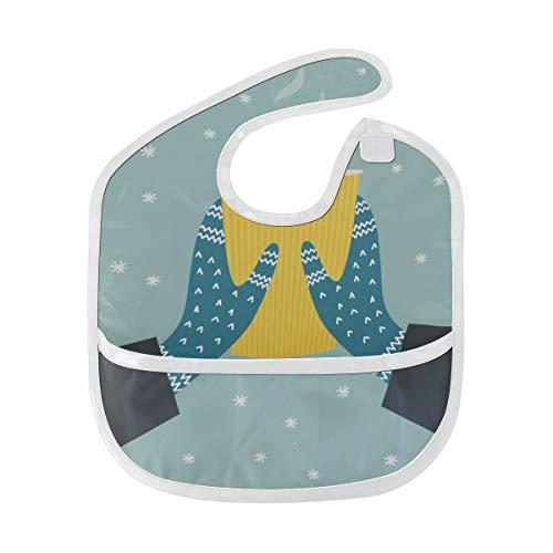 Benutzerdefinierte Winter-handschuhe (Rtosd Handschuh Warm Bequem Benutzerdefinierte Weiche Wasserdichte Flecken Geruchshemmend Baby Fütterung Dribbeln Sabbern Lätzchen Spucktücher Für Kleinkinder Insgesamt Für 6-24 Monate Kind Geschenk)