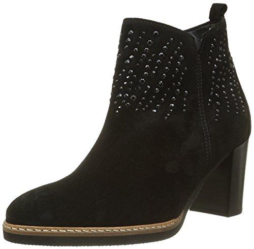Gabor Shoes Comfort Sport, Stivaletti Donna, Nero (Schws.S/.S/Mi), 44 EU