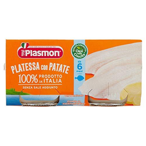 Plasmon Omogeneizzato di Pesce di Platessa 160 g