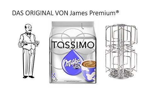 Tassimo Kapselhalter für 64 Kapseln Größter Kapselhalter auf dem Markt geschütztes Design + Milka
