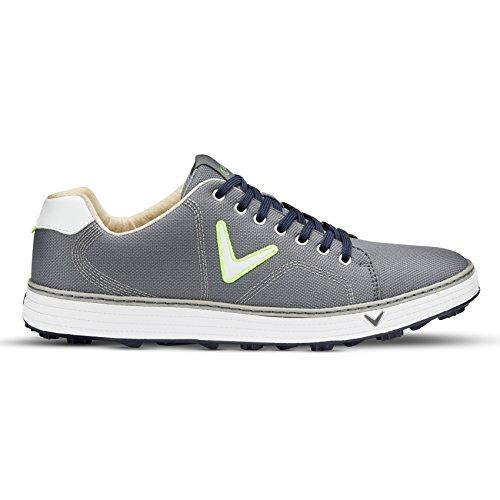 Callaway Delmar Ballistic, Chaussures de Golf Homme, Gris (Grey), 44 EU