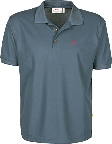 Fjällräven Herren Polo Shirt Crowley Pique Shirt, Uncle Blue, XS, 81783