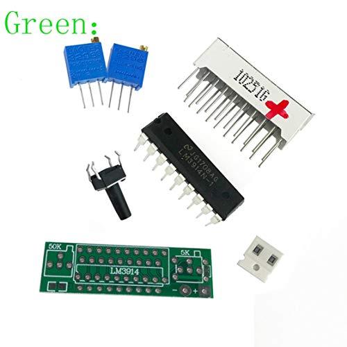 LouiseEvel215 Kit de Bricolage électronique LED Display Board 3 7V Lithium  Batterie Indicateur de capacité Module LED Testeur de Niveau de Puissance