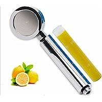 SUN-Doccia ABS Mano con filtro limone, cromo