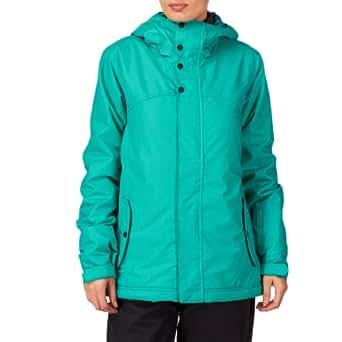 Ladies O'Neill PWFR Frame Ski/Snow Jacket in Spring Grass (S = UK 10)