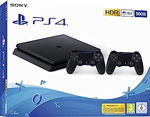 psp4: Playstation 4 (PS4) - Consola 500 Gb + 2 Mandos Dual Shock 4 (Edición Exclusiva ...