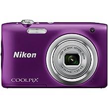 Nikon COOLPIX A100 - Cámara digital (Cámara compacta, 1/2.3, 4,6-23 mm, Auto), morada