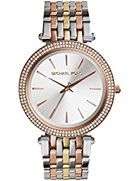 Michael Kors Analog Silver Dial Women's Watch - MK3203