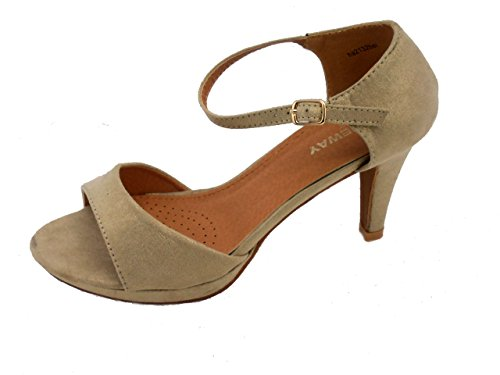 Rebelde , Damen Sandalen Gold