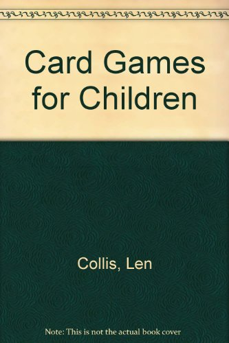 Card games for children.