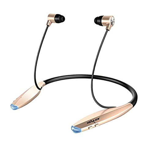 Bluetooth Kopfhörer, ELEGIANT Wireless Bluetooth 4.0 Stereo Headset In Ear Halsband Sport Ohrhörer Nackenbügel Kopfhörer extra Bass Magnetische Headset Headphone Laufsport Gym Übung Wasserschutz für Smartphones iPhone 6 6Plus 6s 5S Samsung Note S5 S6 S7 S8 Edge Plus Note 3 4 5 HTC LG Sony usw