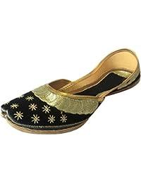 Step n Style Ladies jotti mojari étnico Rajasthani Jaipuri o6Eivh