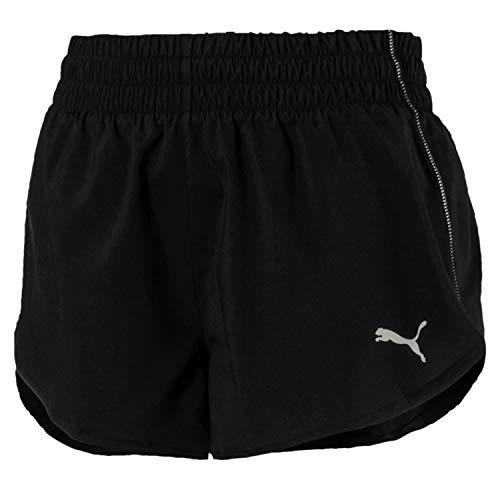Puma ignite 3`, pantaloncini donna, black, s